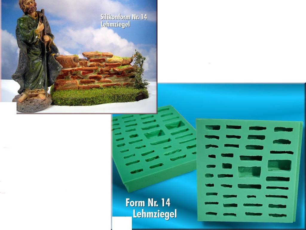 Tfc Krippenform Silikonform Lehmziegel Krippenbausteine Set 14 Ebay